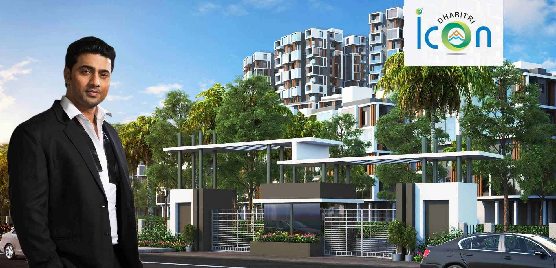 Dharitri Icon is a residential real estate project  located in Rajarhat, Kolkata.
