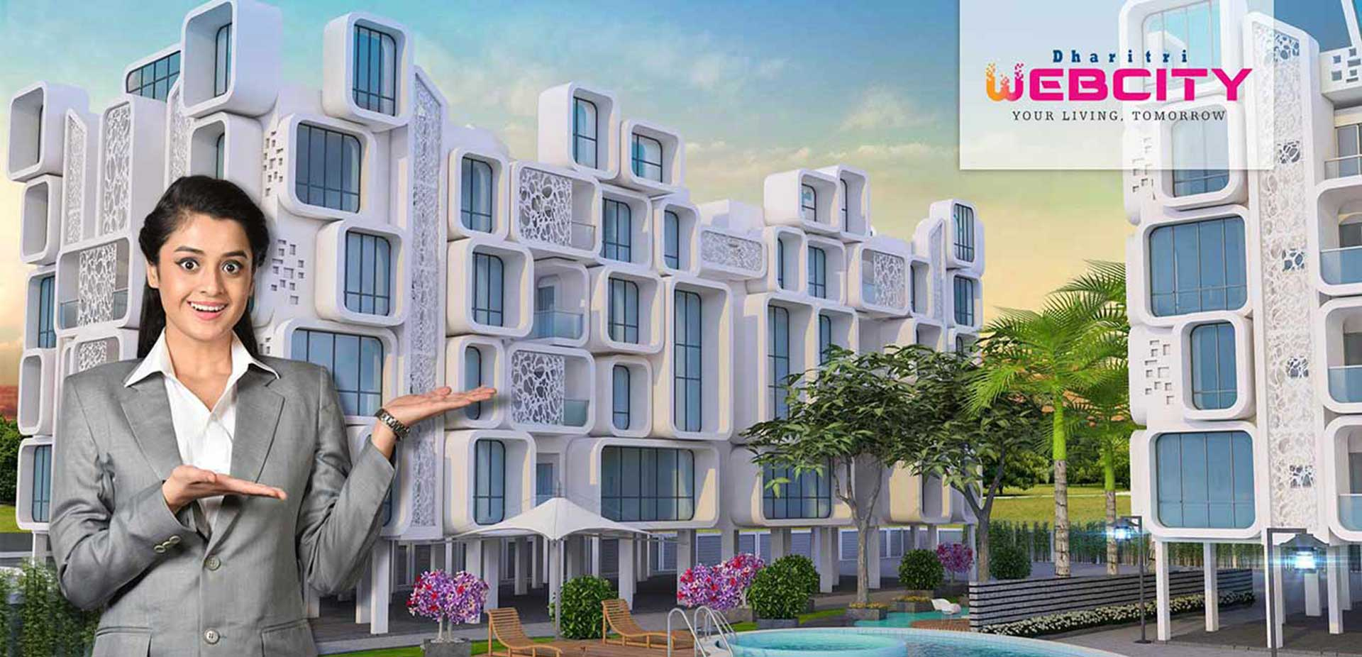 Residential Apartments in Kolkata Webcity