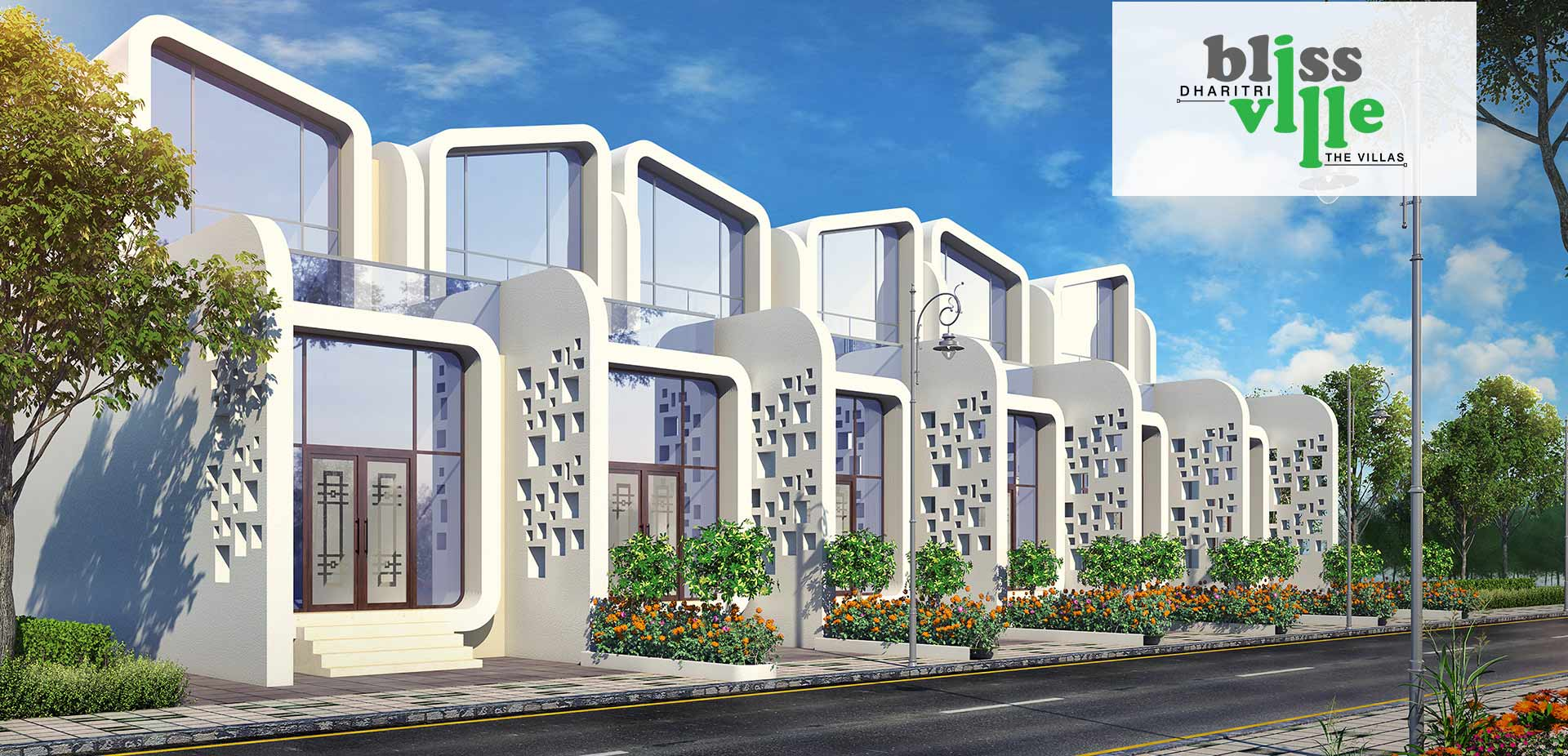 Dharitri Bliss Ville is one of the residential developments of Dharitri Infraventure, located in Kolkata.