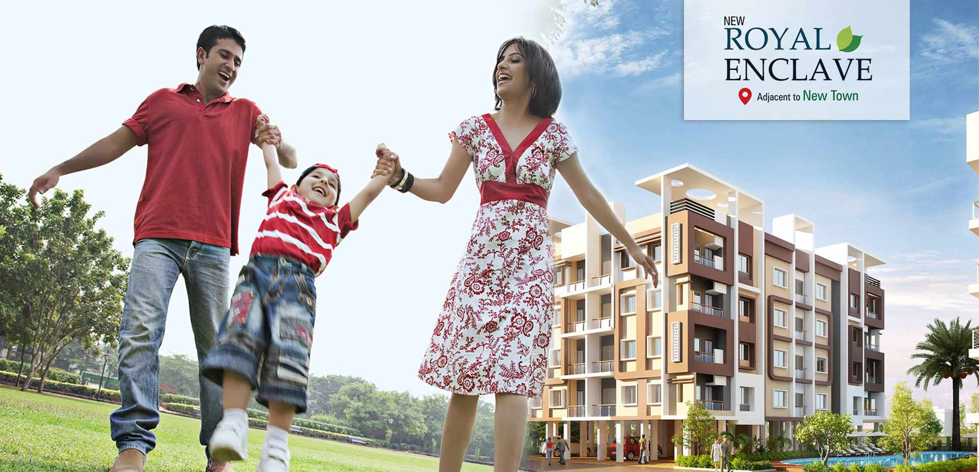 Dharitri real estate project the Royal Enclave