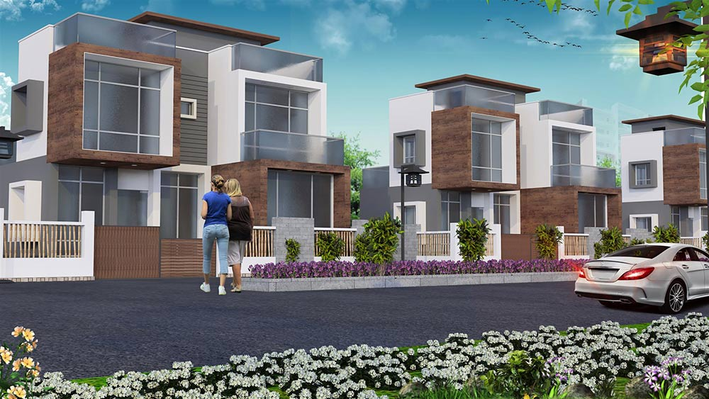 Residential complex in New Town, Affordable apartments in Rajarhat Kolkata