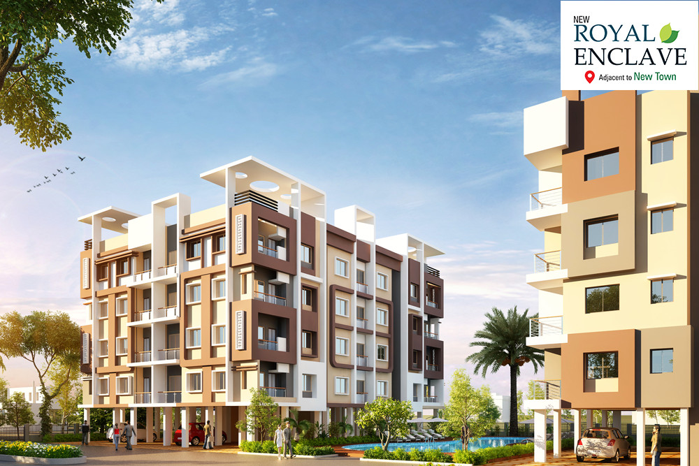 Affordable apartments in Rajarhat, Residential apartments in Rajarhat Kolkata