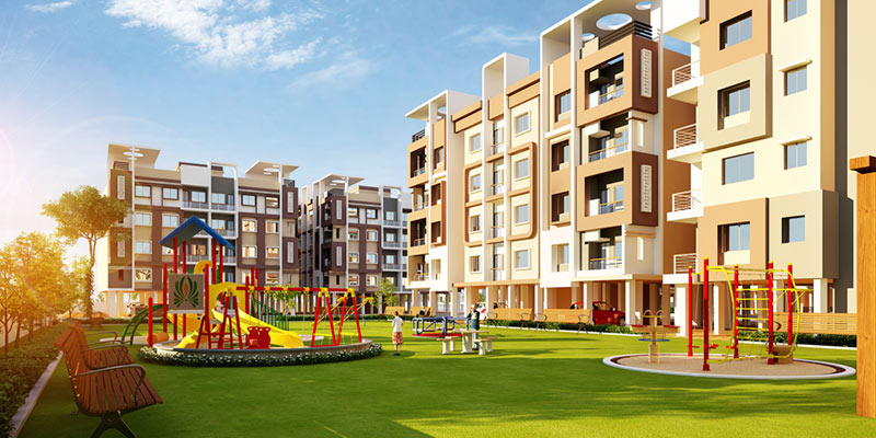 Residential apartments in New Town, 3 bhk affordable apartments near Sec 5 Saltlake