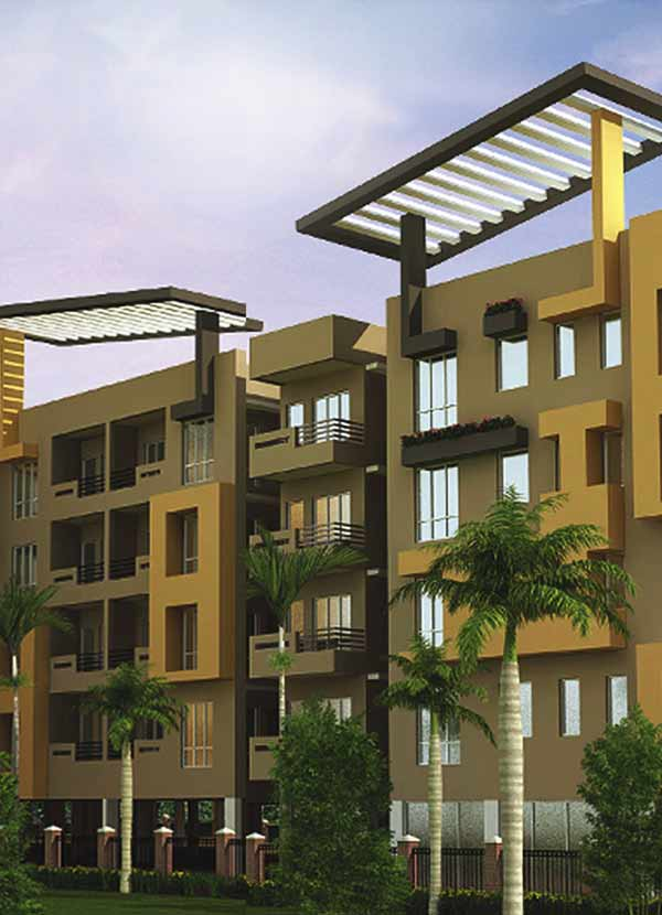 Dharitri Titanium is a premium residential complex in Doltala – Madhyamgram